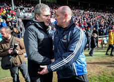 James Horan and Malachy O'Rourke after the game 24/3/2019
