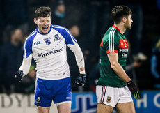 Conor McManus celebrates scoring a late point 4/2/2017