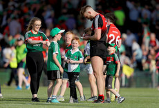 Aidan O'Shea with young supporters after the match 9/6/2018