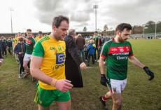 Michael Murphy dejected at the end of the game 25/3/2018