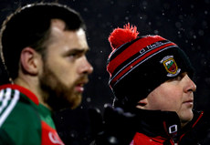 Kevin McLoughlin and head coach Stephen Rochford 10/1/2018
