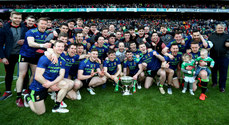 The Mayo team celebrate 31/3/2019