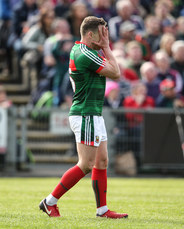 Andy Moran reacts to missed scoring chance 13/5/2018