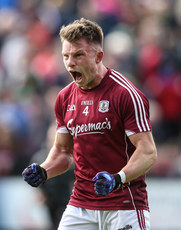 Eoghan Kerin celebrates at the final whistle 13/5/2018