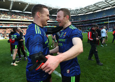 Andy Moran and Colm Boyle celebrate 31/3/2019