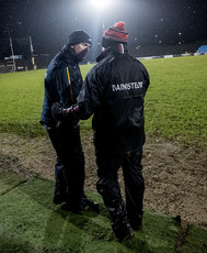 Brendan McGuckian and head coach Stephen Rochford 10/1/2018