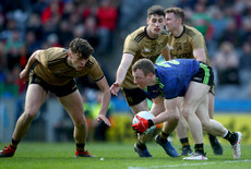 David Clifford and Paul Geaney tackle Colm Boyle 31/3/2019