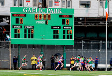 A view the action from Gaelic Park 5/5/2019
