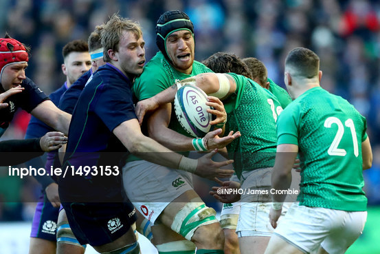 2019 Guinness Six Nations Championship Round 2 Scotland vs Ireland