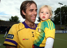 Craig Fulton with his son 16/5/2010