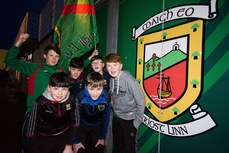 Rory, Charlie, Seamus, Conor, Coilin and Josh from Erris before the game 9/2/2019