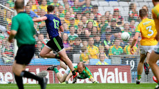 Marcus Brennan saves a penalty but Cillian O'Connor scores the rebound 21/7/2019