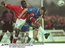 Mark Rutherford FAI Cup Semi Final Waterford United v Shelbourne 4/4/1997