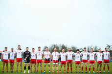 Tyrone stand for the national anthem 3/2/2019