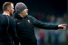 Rob Hennelly and manager James Horan 6/1/2019