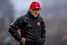 Mickey Harte dejected at the final whistle 3/2/2019