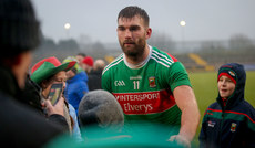 Aidan O'Shea after the game with fans 3/2/2019