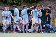 UCD players celebrate after the game 21/9/2019