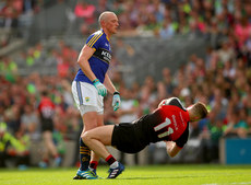 Kieran Donaghy clashes with Aidan O'Shea 26/8/2017