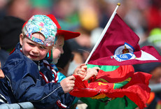 Galway and Mayo supporters in attendance 11/6/2017