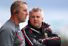 Peter Burke and manager Stephen Rochford 21/5/2017