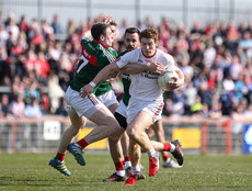 Conor Meyler in action with Patrick Durcan 26/3/2017