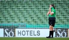 Eleanor Ryan-Doyle dejected after the game 3/11/2019