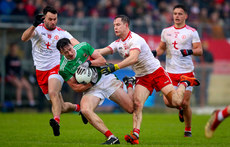 Diarmuid O'Connor with Kyle Coney and Kieran McGeary 3/2/2019