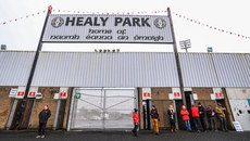 A general view of Healy Park 3/2/2019