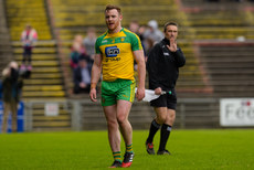 Eamonn Doherty leaves the field after being sent off 2/4/2017