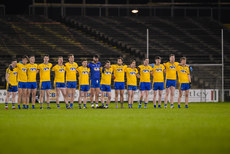 Roscommon stand for a minutes silence 25/2/2017