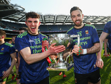 Ciaran Treacy and Kevin McLoughlin celebrate 31/3/2019
