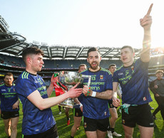 Ciaran Treacy, Kevin McLoughlin and Conor Diskin celebrate 31/3/2019