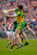 Patrick McBrearty catches a high ball 2/4/2017