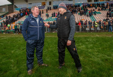 Terry Hyland and James Horan after the game 6/1/2019