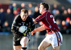 FBD Insurance League 17/1/2010. Galway vs Sligo. Sligo\'s Adrian Marren and Jamie Murphy of Galway. Mandatory Credit ©INPHO/James Crombie