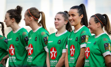 Niamh Farrelly prior to the game 3/11/2019