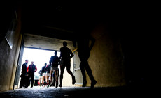 The Mayo team take to the field 3/2/2019