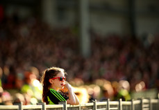 A Mayo supporter looks on 22/7/2017