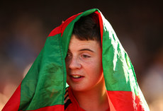 A Mayo supporter at the match 22/7/2017