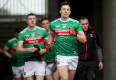 Diarmuid O'Connor leads his team onto the field 24/3/2019