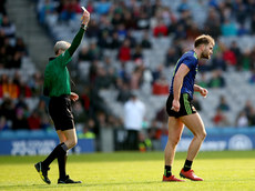 Aidan O'Shea dejected after being red carded by referee Fergal Doherty 31/3/2019