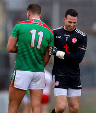 Niall Morgan with Aidan O'Shea 3/2/2019