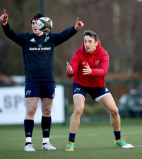 Ronan O'Mahony and Darren Sweetnam 18/2/2019