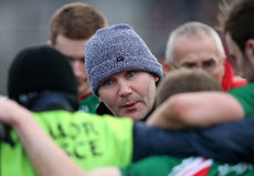 James Horan speaks to his players 2/2/2014