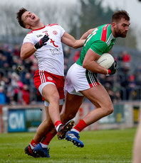 Michael McKernan with Aidan O'Shea 3/2/2019