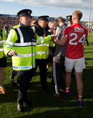 Billy Sheehan confronts referee Ciaran Branagan 22/7/2017