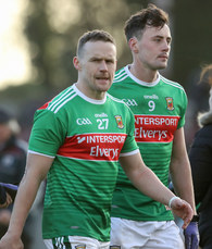 Andy Moran and Diarmaid O'Connor dejected at the end of the game 13/1/2019