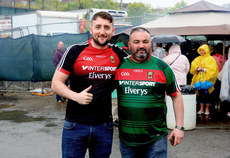 Mayo fans in Gaelic Park ahead of the game 5/5/2019