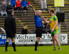 Cormac Reilly issues a red card to Eamonn Doherty 2/4/2017